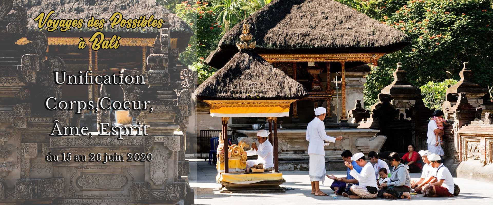 Voyage initiatique Bali avec Gilyane Bernard